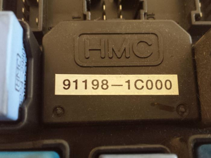 fuse box from a hyundai getz (used)