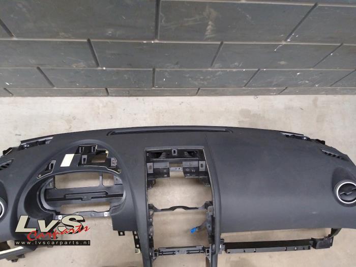 Airbag Set+Modul van een Nissan / Datsun Qashqai (J10) 1.6 16V 2010