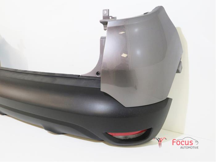 Rear bumper from a Renault Captur (2R) 0.9 Energy TCE 12V 2016