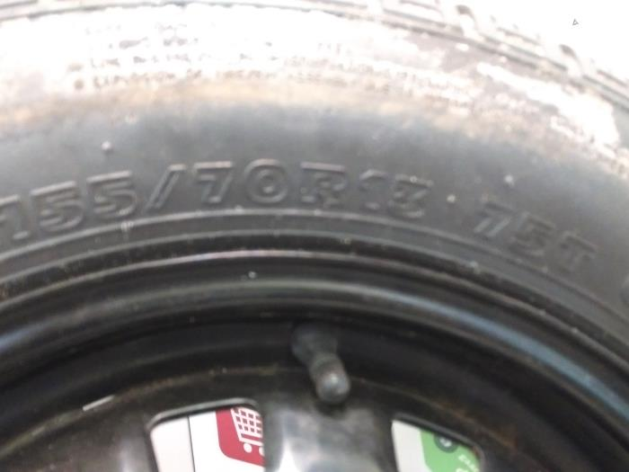 Used Hyundai Atos 10 12v Jackkit Spare Wheel Steel