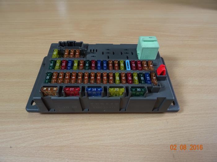 2003 Mini Cooper Fuse Box