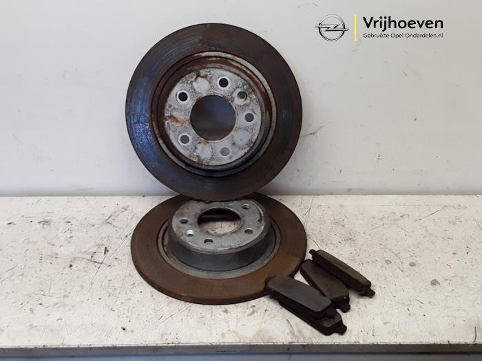 Opel Astra 10//91-98 1.6 Boîte 16 V I 99bhp Frein Arrière Chaussures 160 mm