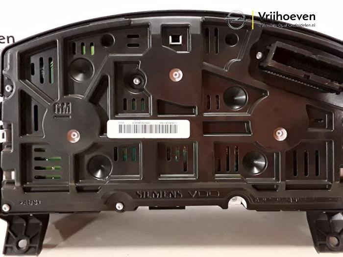 Panel de instrumentación de un Opel Astra H (L48) 1.3 CDTI 16V Ecotec 2007
