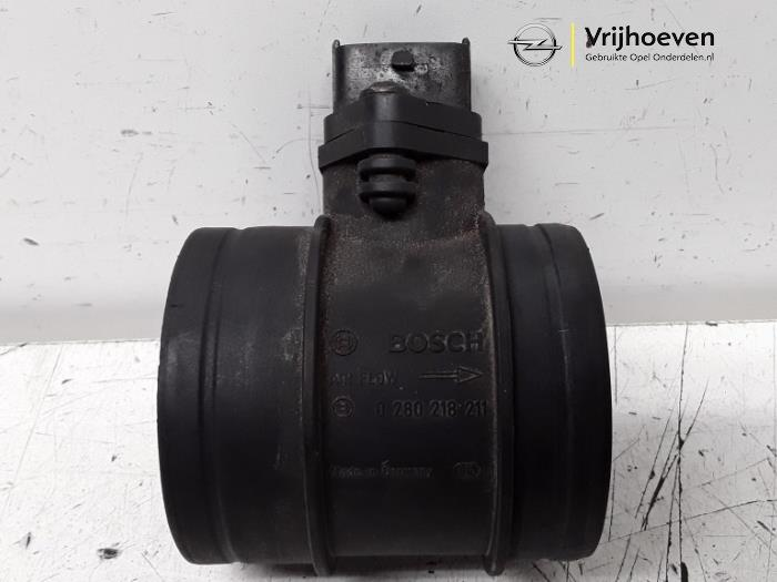 Airflow meter from a Opel Astra H GTC (L08) 2.0 16V Turbo OPC 2010