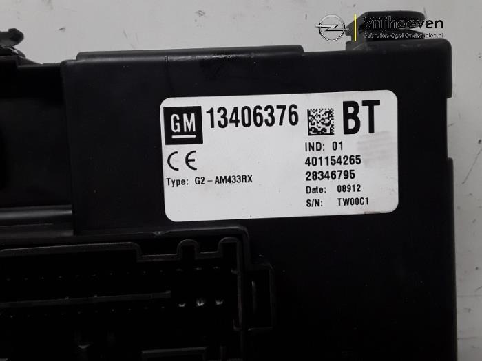 Sicherungskasten van een Opel Meriva 1.7 CDTI 16V 2012