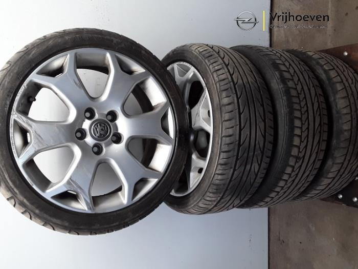 Used Opel Meriva 16 16v Opc Turbo Set Of Wheels Tyres