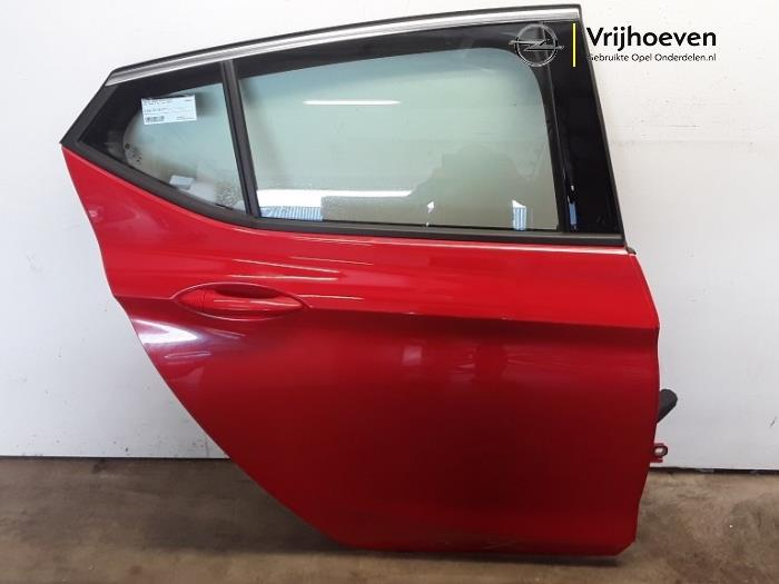 Rear door 4-door, right from a Opel Astra K 1.0 SIDI Turbo 12V 2019
