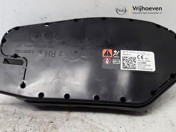Seat airbag (seat) from a Opel Corsa E 1.4 16V 2017