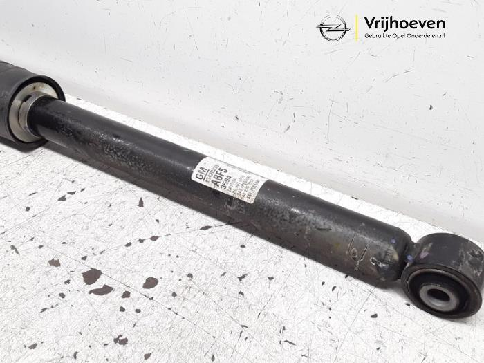 Rear shock absorber, left from a Opel Astra J Sports Tourer (PD8/PE8/PF8) 1.4 Turbo 16V 2013