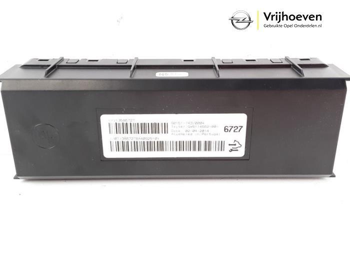 Sterownik nagrzewnicy z Opel Astra J (PC6/PD6/PE6/PF6) 1.4 Turbo 16V 2014