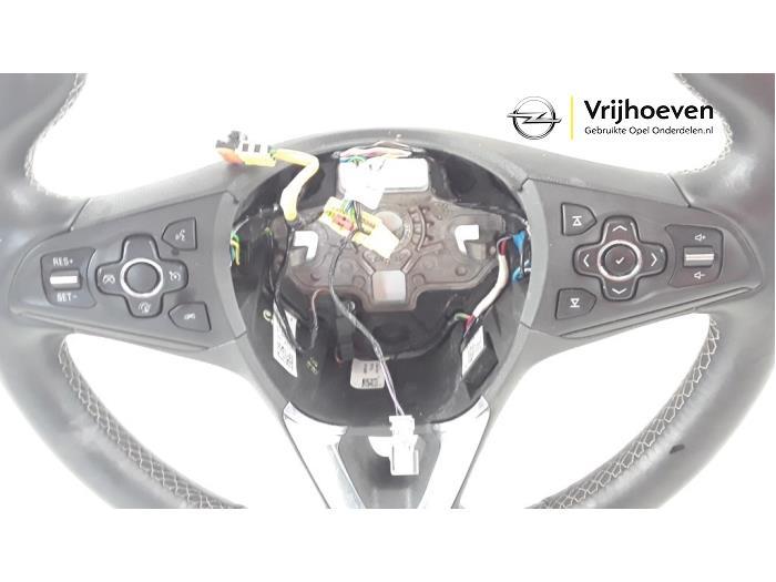Steering wheel from a Opel Astra K 1.4 Turbo 16V 2016