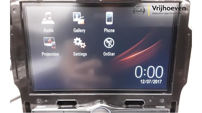Radio Modul van een Opel Mokka X 1.4 Turbo 16V 2017