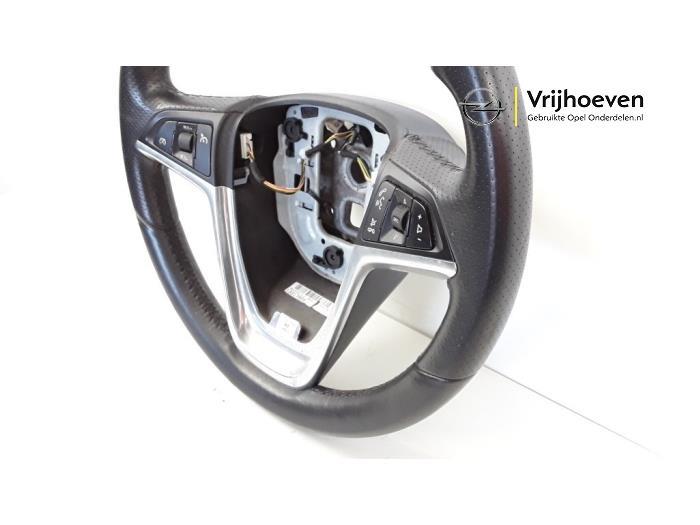 Steering wheel from a Opel Astra J (PC6/PD6/PE6/PF6) 1.6 16V Ecotec 2011