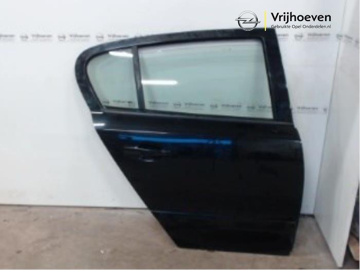 Tür 4-türig rechts hinten van een Opel Astra H (L48) 1.4 16V Twinport 2006
