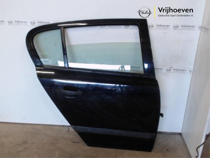 Tür 4-türig rechts hinten van een Opel Astra H (L48) 1.6 16V Twinport 2007