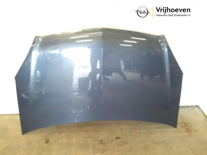 gebrauchte opel zafira (m75) 1.6 16v motorhaube farbcode z168