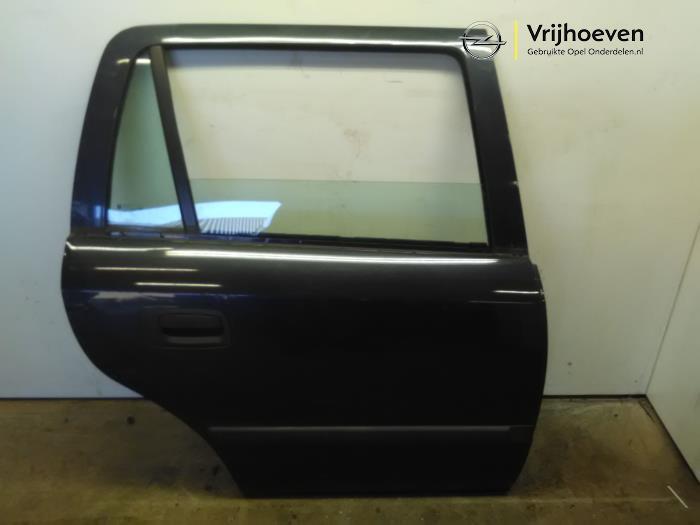 Tür 4-türig rechts hinten van een Opel Astra G Caravan (F35) 1.6 16V 2001