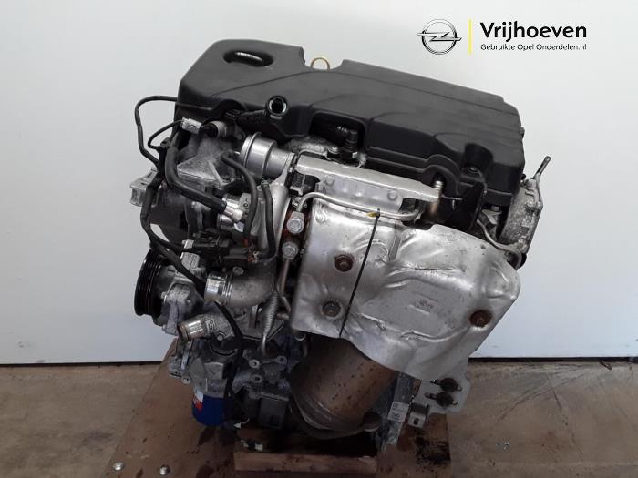 gebrauchte opel astra k 1.4 turbo 16v motor - 12660165