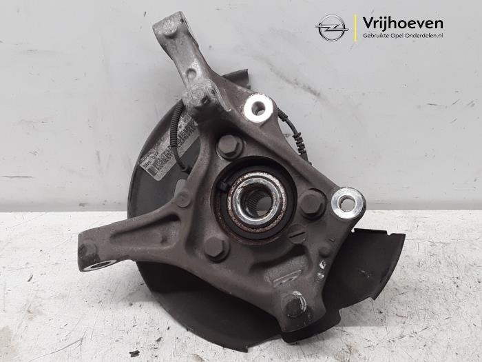Knuckle, front left from a Vauxhall Astra Mk.7 1.4 16V 2016