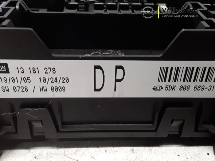 Used Opel Astra H (L48) 1.6 16V Twinport Fuse box - 13181278 ...  Astra Fuse Box on
