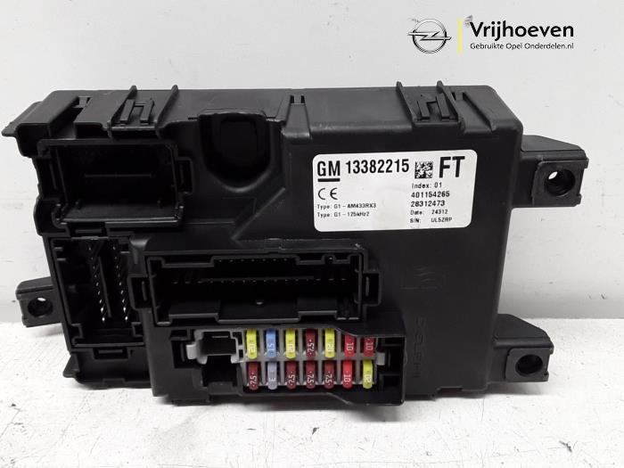 fuse box from a opel corsa d 1 4 turbo 16v 2012