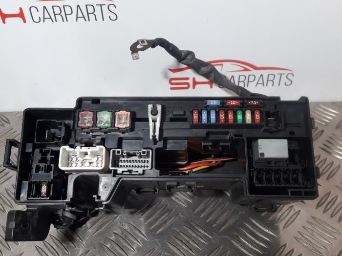 fuse box from a peugeot 107 (used)