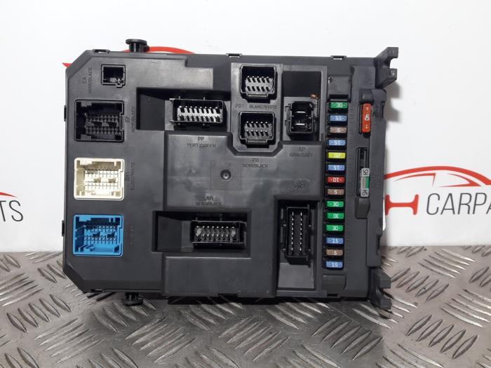 Citroen C2 Fuse Box