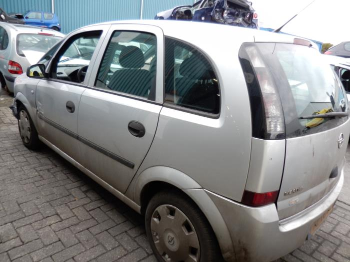 Opel Meriva 13 Cdti 16v Salvage Year Of Construction 2006 Colour
