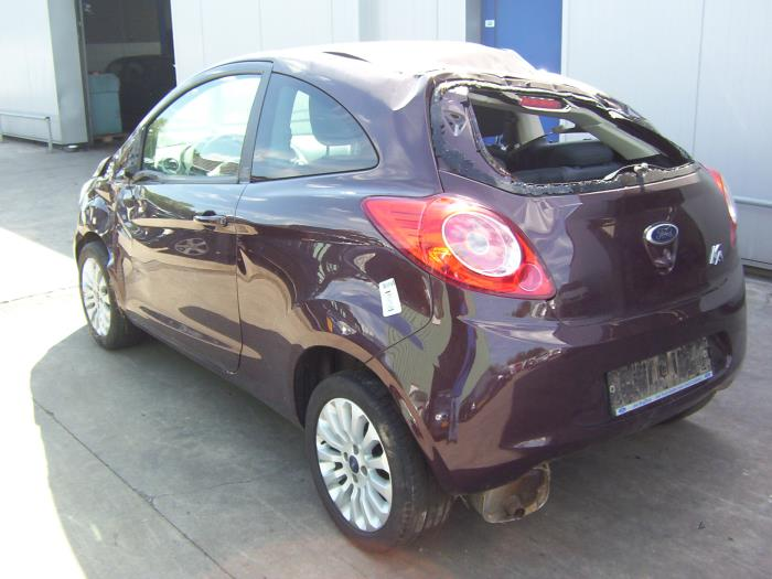 Ford Ka Ii   Salvage Year Of Construction  Colour Brown Proxyparts Com