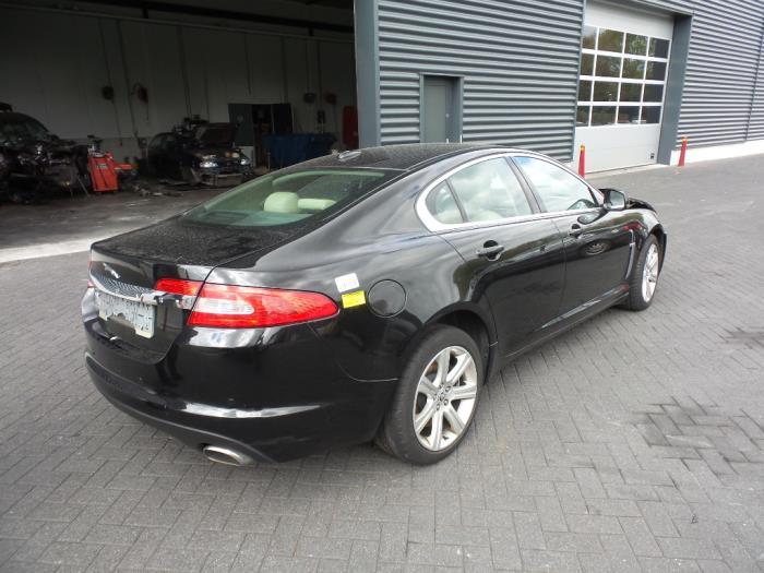 Jaguar XF (CC9) 3.0 D V6 24V (salvage, Year Of Construction 2010, Colour  Black) | ProxyParts.com