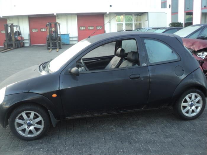 ford ka i salvage year of construction 2000 colour black. Black Bedroom Furniture Sets. Home Design Ideas