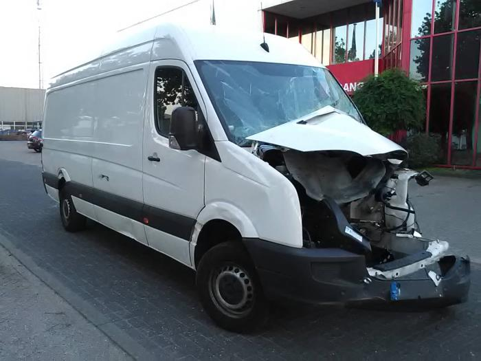 Volkswagen Crafter (salvage, year of construction 2016, colour White