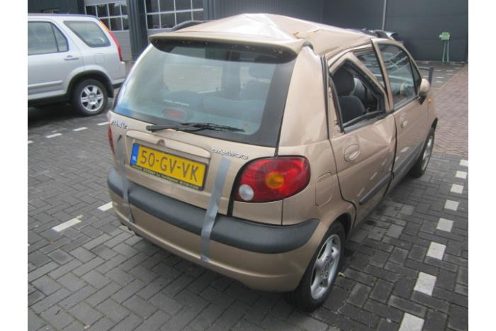 daewoo chevrolet matiz spark 0 8 s se salvage year of construction 2001 colour beige. Black Bedroom Furniture Sets. Home Design Ideas