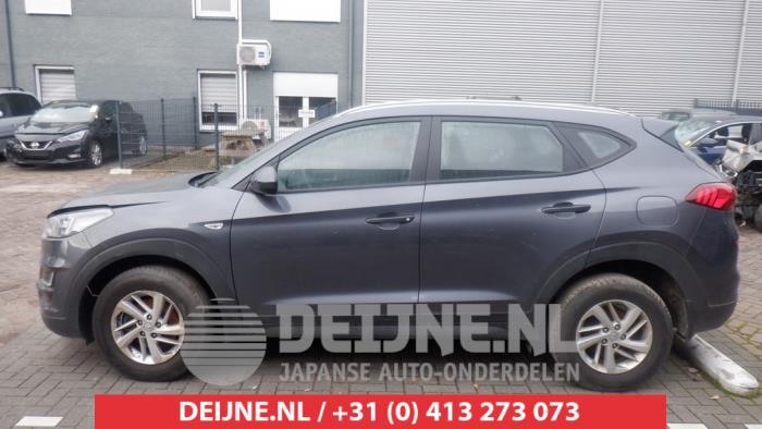 Hyundai Tucson 1.6 GDi 16V 2WD Schrottauto (2019, Grau)