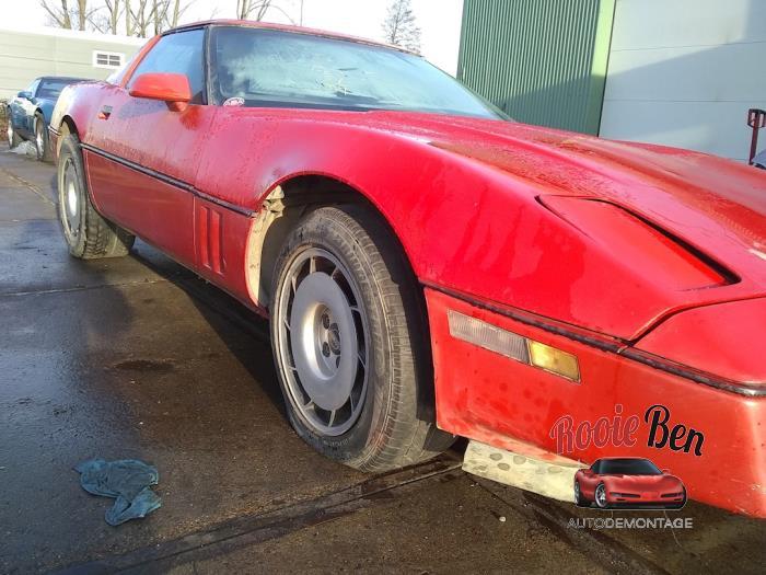 C4 Corvette Years