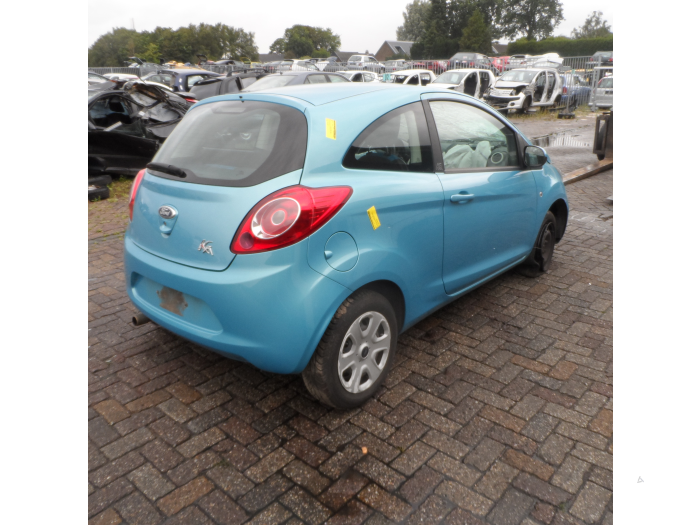 Ford Ka Ii   Salvage Year Of Construction  Colour Blue