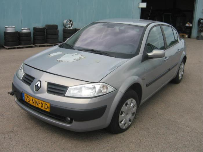 Renault Megane Ii Lm 16 16v Salvage Year Of Construction 2004