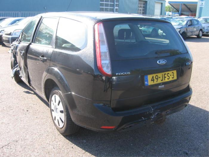 ford focus ii wagon 16 tdci 16v 110 salvage year of construction 2009 colour black