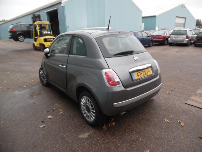 Fiat 500 0 9 Twinair 85 Salvage Year Of Construction 2013 Colour