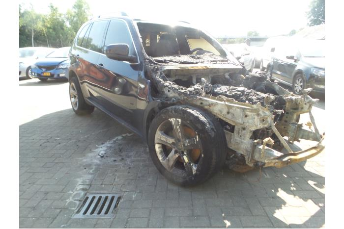 Bmw X5 E70 3 0d 24v Salvage Year Of Construction 2009 Colour