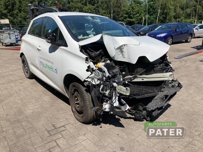 Renault Zoé R90 Salvage vehicle (2018, Steel, White, Blank)