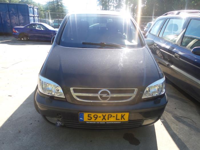Opel Zafira F75 22 16v Salvage Year Of Construction 2003