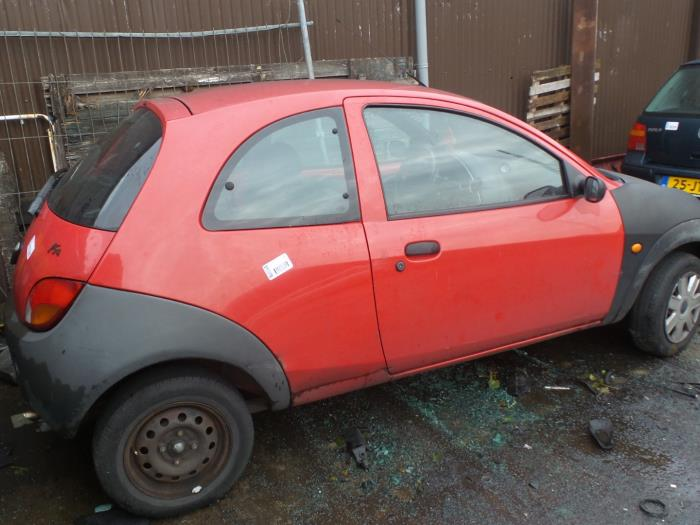 Ford Ka I  I Salvage Year Of Construction  Colour Red Proxyparts Com