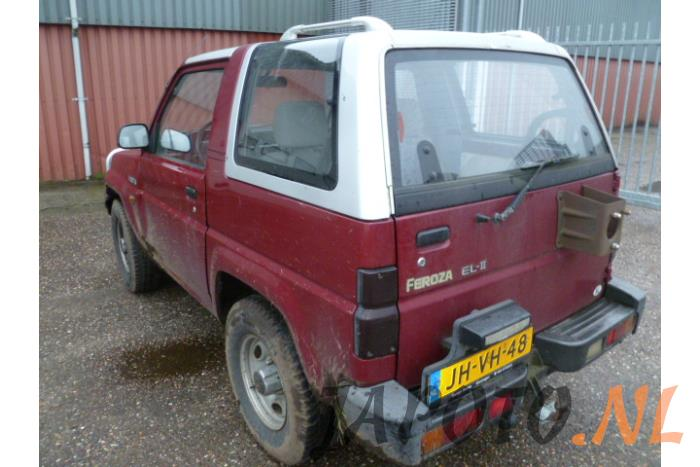 Daihatsu Ferozasportrak 16 Dxelse 16v Soft Top Salvage Year Of