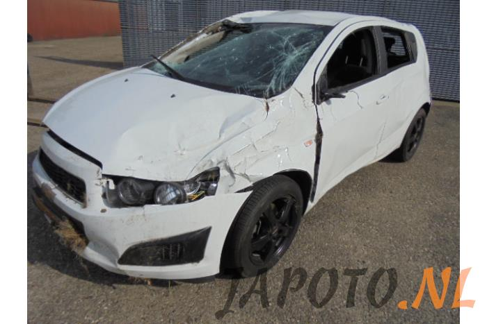 Daewoochevrolet Aveo 13 D 16v Salvage Year Of Construction 2012