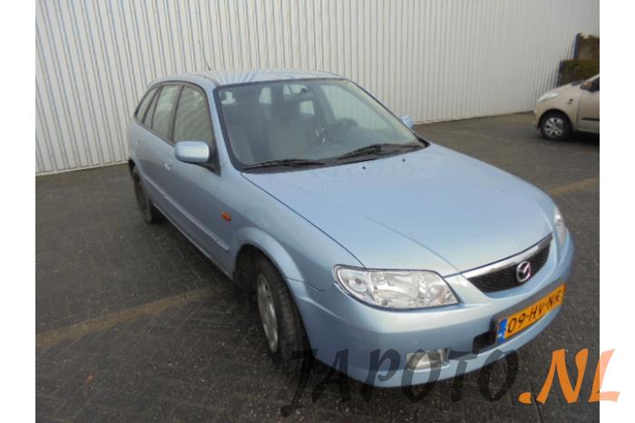 mazda 323 fastbreak (bj14) 1.6 16v autom. (schrott, baujahr 2002