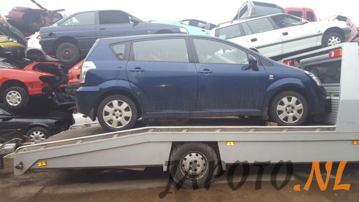 toyota corolla verso r10 11 2 0 d 4d 16v salvage year. Black Bedroom Furniture Sets. Home Design Ideas