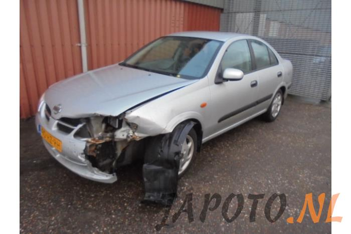 628c6004491 Nissan / Datsun Almera (N16) 1.5 16V (salvage, year of construction 2002,  colour Gray)