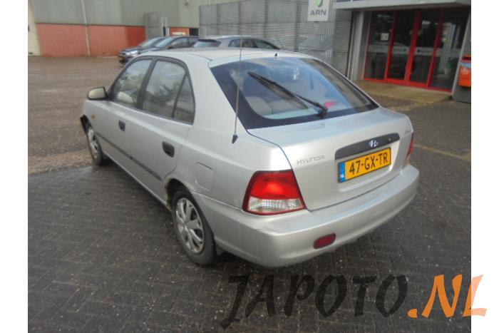 Hyundai Accent 1 3i 12v Desguace Ano De Construccion 2001