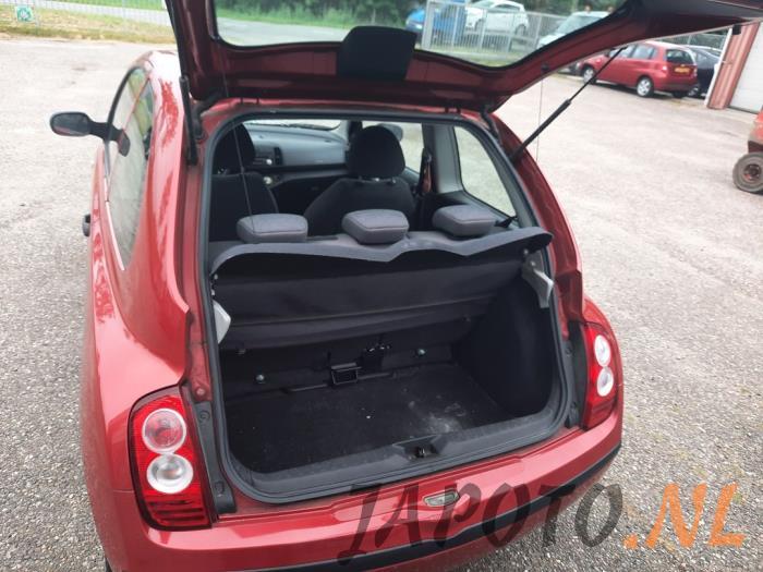 Nissan Micra 1.2 16V Schrottauto (2006, Rot)